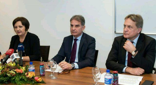 Ministar Capelli iznio brojne pohvale na rad Zračne luke i direktorice Ćosić