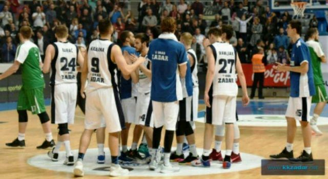 KK Zadar izgubio od Igokee rezultatom 100:82