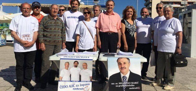 Nezavisni kandidati Miljenko Marić i Čedo Alić družili se sa Zadranima