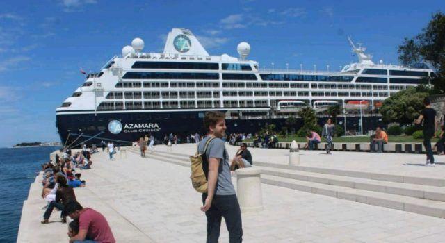 Zadar ove godine posjetilo 110.000 putnika s kruzera!