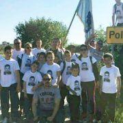 Bibinjci pješačili 32 kilometra do mjesta pogibije heroja Franka Lisice!
