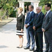 Dukić i Longin sa zamjenicima položili vijence povodom Dan državnosti