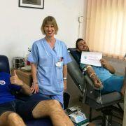 Nogometaši Zadra darovali krv