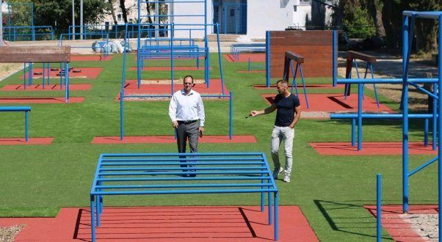 Obnovljeno i vježbalište u ŠC Višnjik, građani ga mogu koristiti