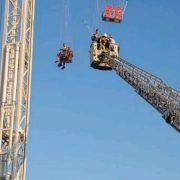 NOVI PROBLEMI Vatrogasci spašavali ljude s vrtuljka u Biogradu