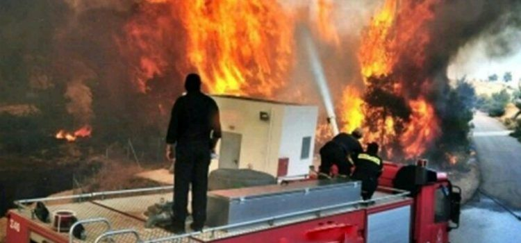 Zbog namjernog izazivanje dva požara u Povljani priveden 42-godišnjak