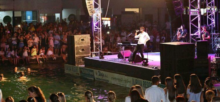 GALERIJA Spektakularan koncert Petra Graše u Biogradu (Foto: Boris Kačan)