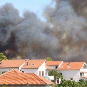 ZADAR JE OBRANJEN Vatrogasci ugasili požar u Diklu!