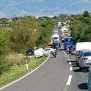 PROMETNA NESREĆA Tri automobila sudarila se u Murvici!