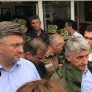 GALERIJA Posjet premijera Plenkovića poplavljenim područjima Zadarske županije