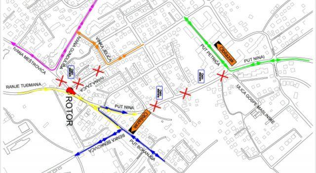 Od ponedjeljka privremena regulacija prometa zbog gradnje kružnog toka