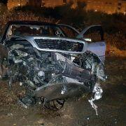 FOTO 16-godišnji mladić noćas skršio očev Mercedes na Bulevaru