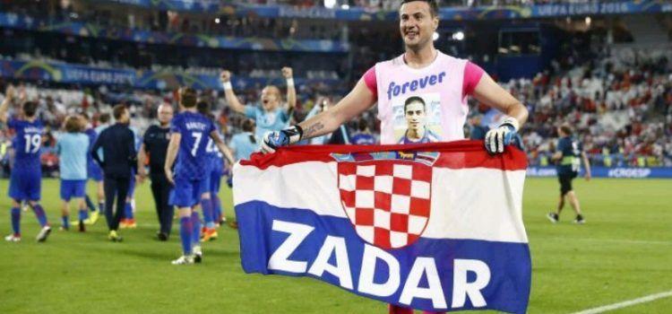 LIJEPA GESTA Danijel Subašić donirao nogometašima iz Bibinja 25 lopti
