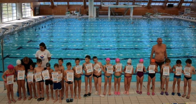 ZAVRŠILI OBUKU Ukupno 36 novih plivača iz Smiljevca i Stanova