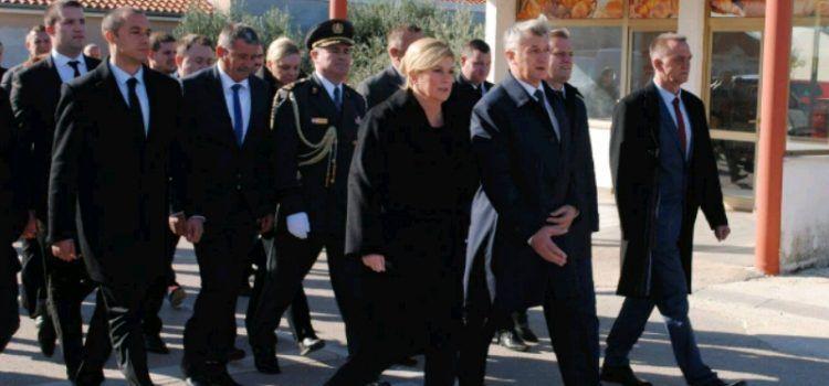 Predsjednica odala počast žrtvama Škabrnje