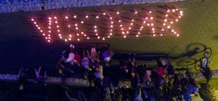 Bibinjci zapalili svijeće i pomolili se za stradale u Vukovaru i Škabrnji