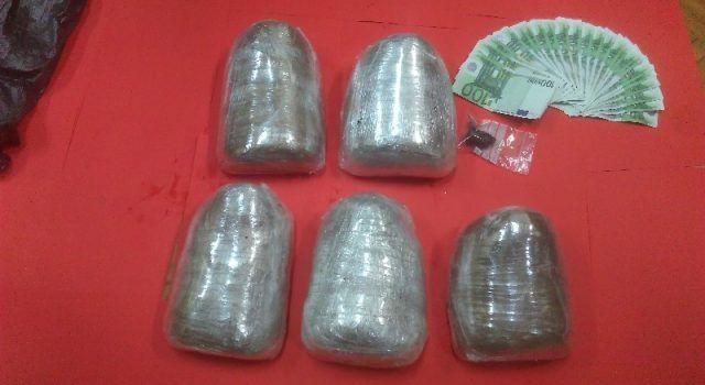 Kod 27-godišnjeg mladića pronađeno tri kilograma marihuane