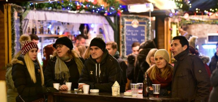 GALERIJA Unatoč hladnoći, Zadrani se zabavljali na Adventu