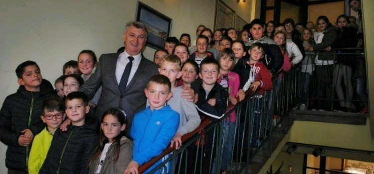 Župan Longin primio učenike iz Stankovaca