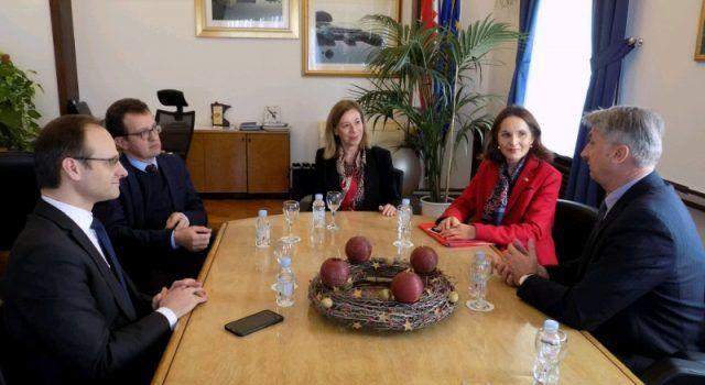 Župan Longin ugostio francusku veleposlanicu