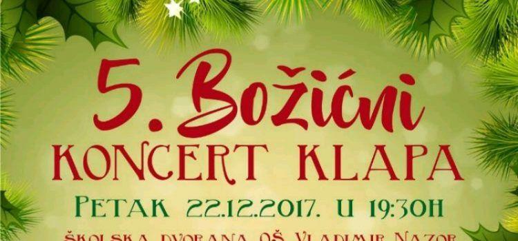 Na Božićnom koncertu u Neviđanima nastupit će šest klapa