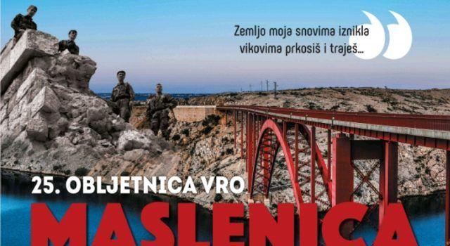 Program obilježavanja 23. obljetnice akcije Maslenica