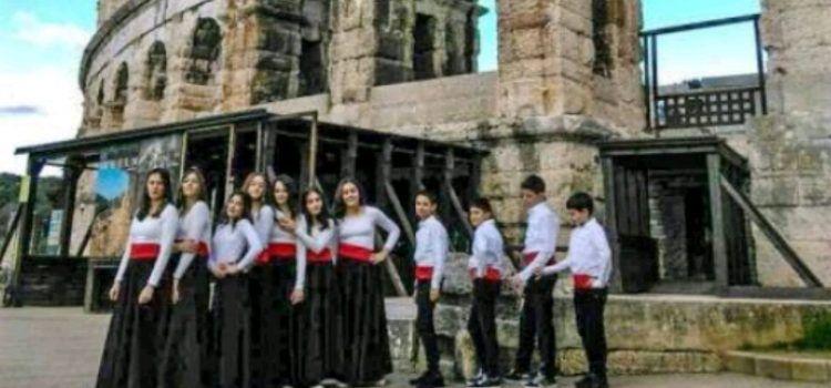 Dječja klapa Baliniera s Ugljana prva na natjecanju Istria Cantat u Puli!
