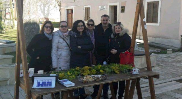 PROTIV RAKA MATERNICE U Benkovcu obilježen Dan mimoze!