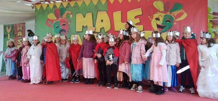 Mališani Dječjeg vrtića Ražanac sudjelovali u maškarama