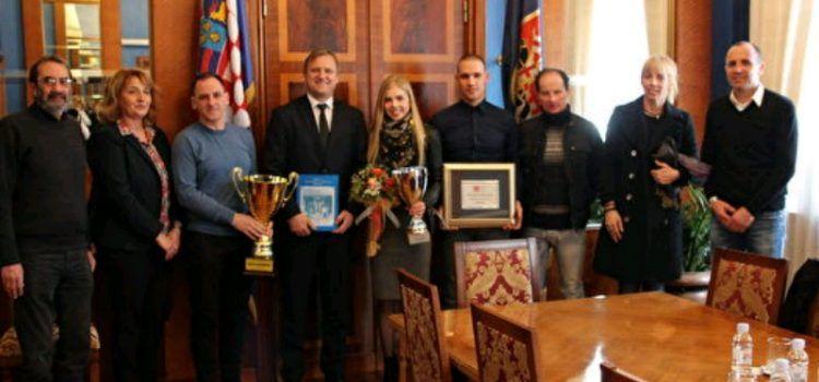 Gradonačelnik Dukić primio Maju Perinović, najbolju zadarsku sportašicu