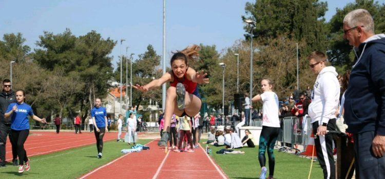 GALERIJA Na Višnjiku održano 2. kolo Dalmatinske atletske lige