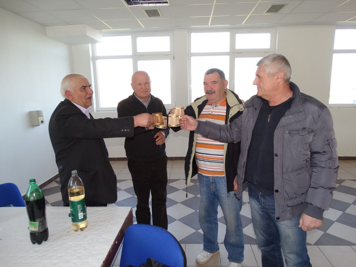 Joso Nimac,Ive Nimac kuhar,Ivan Nimac i Željko Mijić -bivši načelnici Općine Lišane
