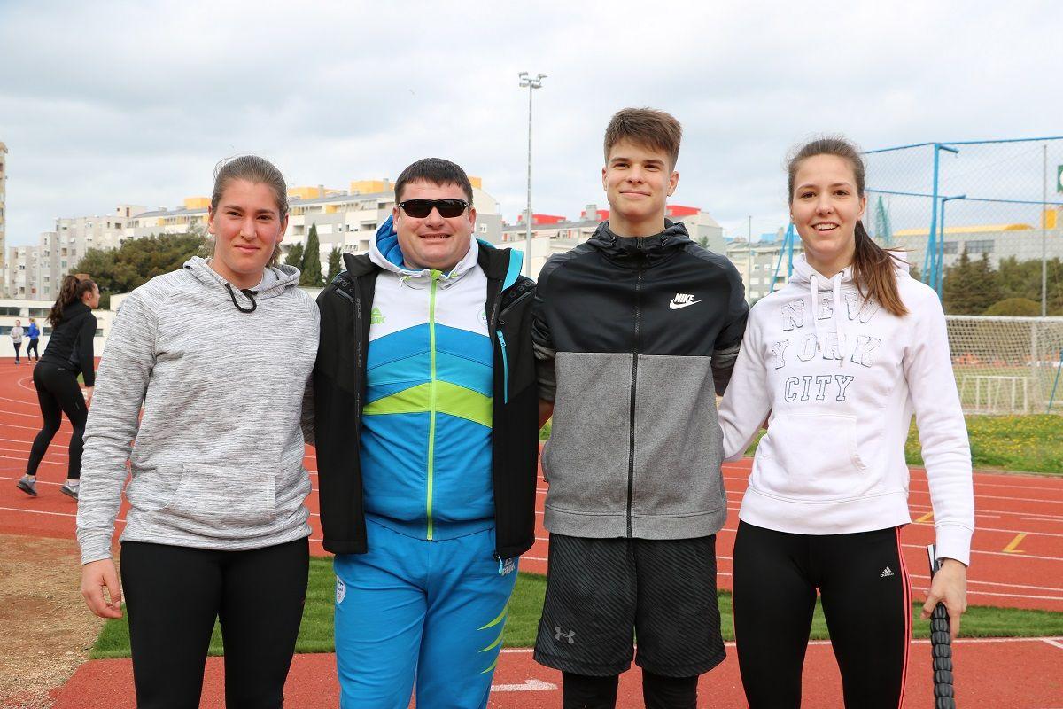 Hrvatska atletska reprezentacija na pripremama (2)