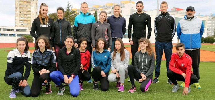 GALERIJA Priprema Hrvatske atletske reprezentacije na Višnjiku