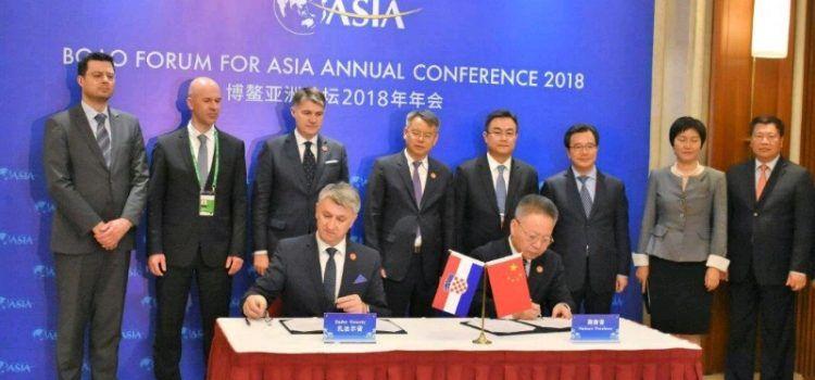 Zadarska županija će ostvariti prijateljstvo s jednom od najbogatijih kineskih provincija