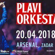 EVERBLUE TURNEJA Plavi orkestar u zadarskom Arsenalu