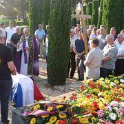 Dragovoljac i ratni veteran Damir Kunce ispraćen uz vojne počasti na groblju u Bibinjama