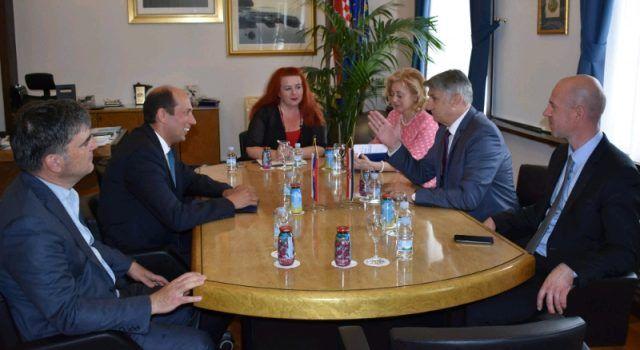 Župan Longin ugostio slovačkog veleposlanika; informirao ga o projektu Gaženica