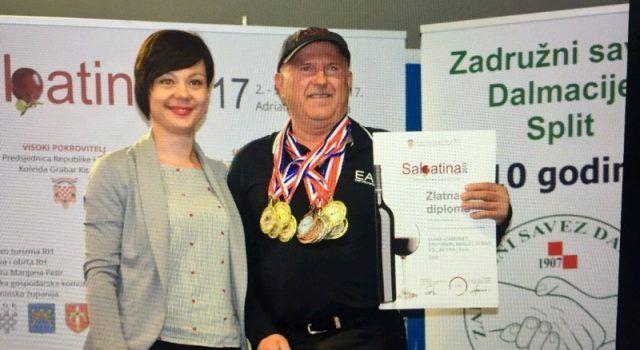 Vina Trifuna Poljaka iz Zadra dobila najprestižnija priznanja struke