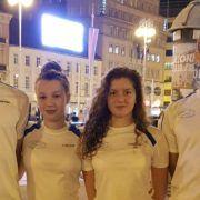 Članovi Plivačkog kluba Jadera na natjecanju u Zagrebu