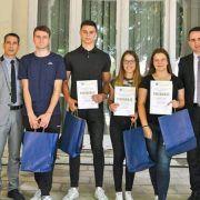 GALERIJA Pročelnik Šimunić i dožupan Mršić nagradili uspješne srednjoškolce
