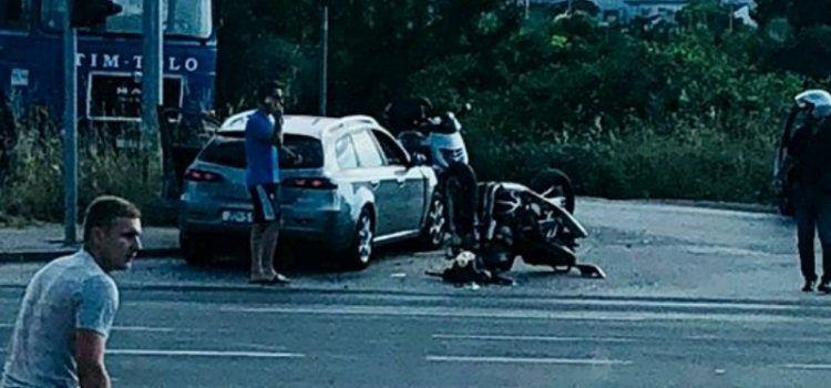 FOTO Prometna nesreća na Jadranskoj magistrali, stradao motociklist