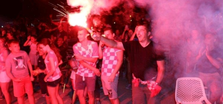 GALERIJA Proslava veličanstvene pobjede Vatrenih protiv Argentine u Viru