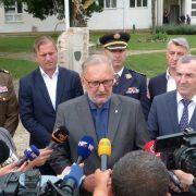 GALERIJA Ministar u Zadru otvorio Stožer za provedbu mjera sigurnosti