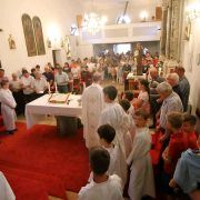 BIBINJE Misom i procesijom proslavljen blagdan Sv. Ante