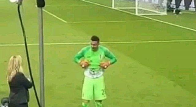 Subašić pokazao majicu s pokojnim Ćustićem iako FIFA prijeti kaznom