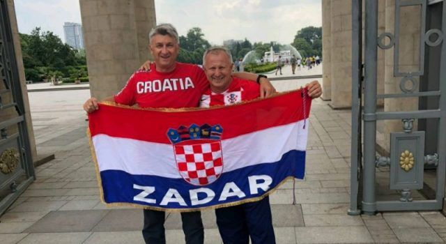 Zadarski župan Božidar Longin došao u Moskvu podržati Vatrene