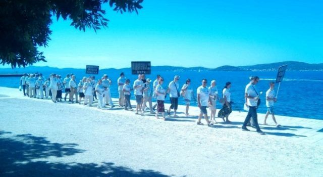 GALERIJA Mimohod sjećanja na žrtve Srebrenice održan u Zadru