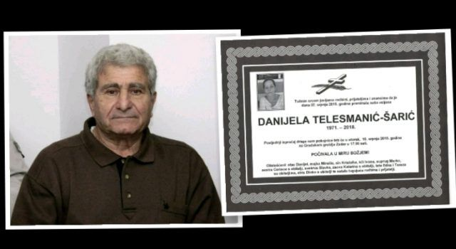 Najteži dani ratnog zapovjednika Danijela Telesmanića – umrla mu kći