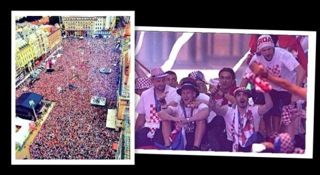 Veličanstven doček – Vatrene u Zagrebu dočekalo pola milijuna ljudi!